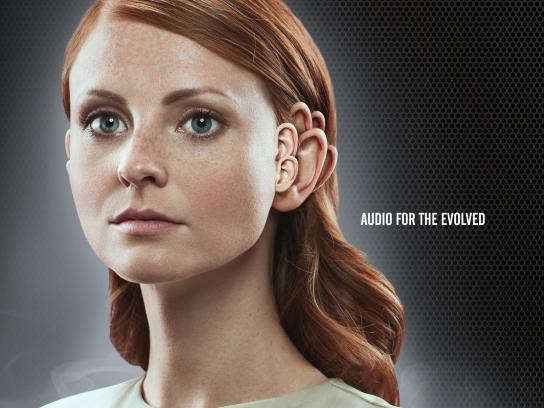 DTS Print Ad -  We're all ears, Audio for the evolved
