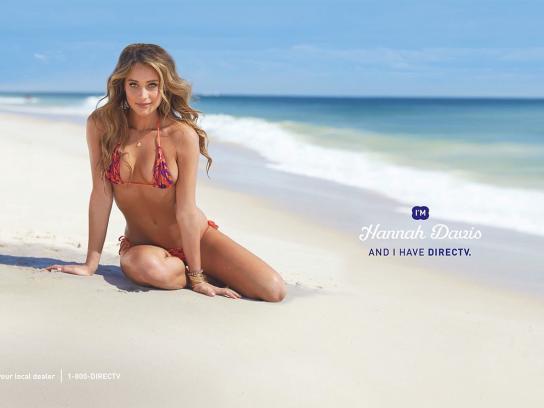 DIRECTV Print Ad -  Hannah, 1