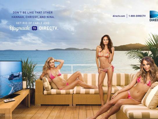 DIRECTV Print Ad -  Group