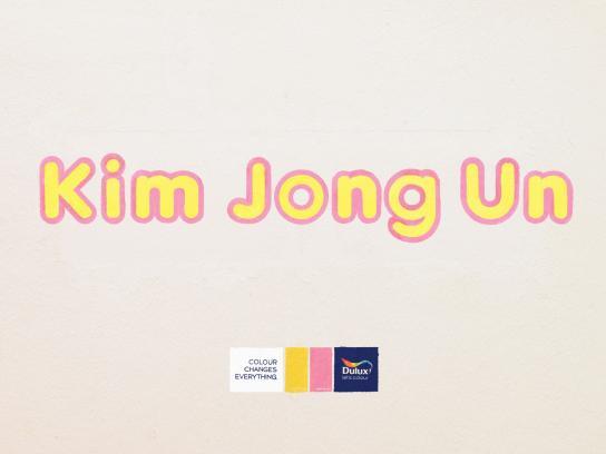 Dulux Print Ad -  Kim