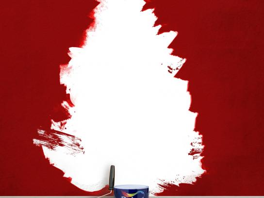 Dulux Print Ad -  Season's Greetings