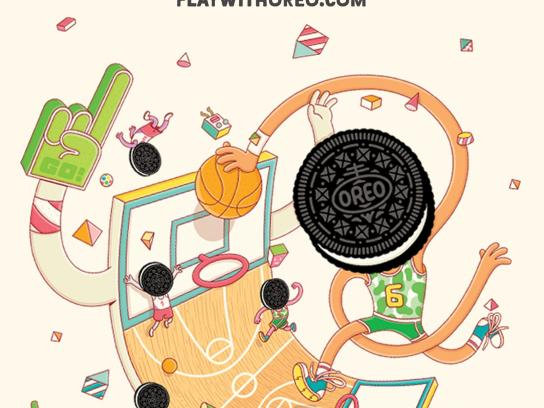 Oreo Outdoor Ad -  Wonderfilled, 11