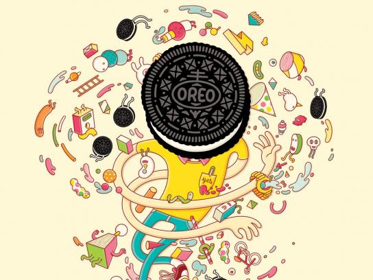 Oreo Outdoor Ad -  Wonderfilled, 6