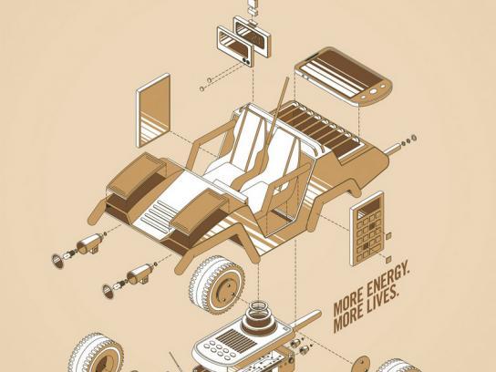 Duracell Print Ad -  Car