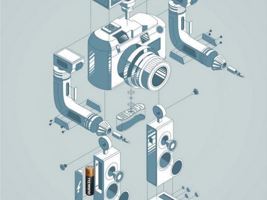 Duracell Print Ad -  Robot