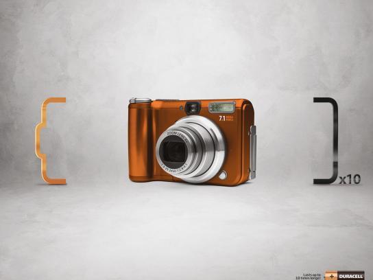 Duracell Print Ad -  Camera