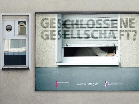 EKKW Print Ad - Geschlossene Gesellschaft