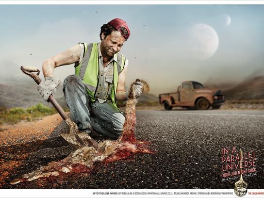Eagle Print Awards Print Ad -  Roadkill