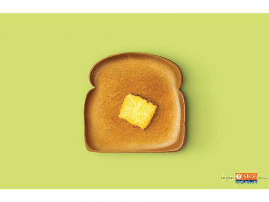 VLCC Print Ad - Eat Right, 2