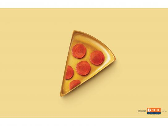 VLCC Print Ad - Eat Right, 1