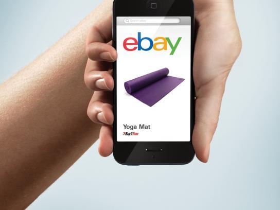 ebay Print Ad -  Yoga mat