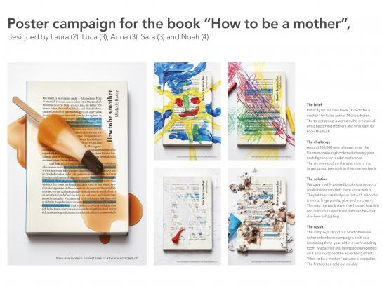 Echtzeit Publishing Print Ad - How to be a mother