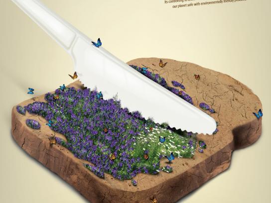 GeoPack Print Ad -  Knife