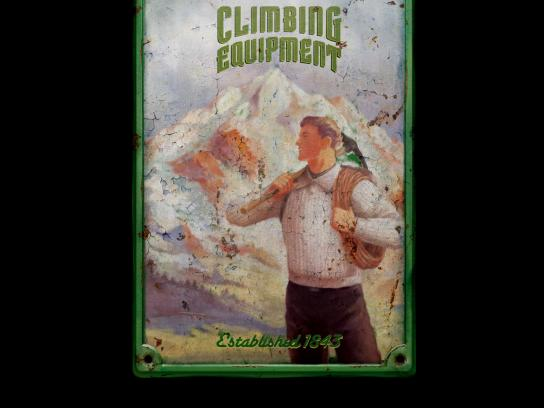 The Economist Print Ad -  Climbing Equipment