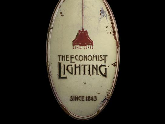The Economist Print Ad -  Lighting