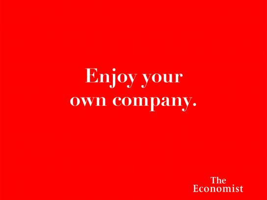 The Economist Print Ad - Headlines - Company