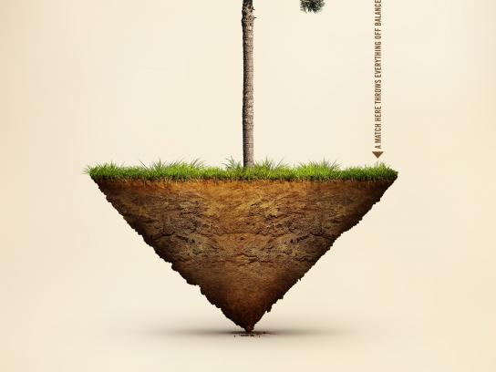 Ecovia Print Ad -  Balance of Nature, 2