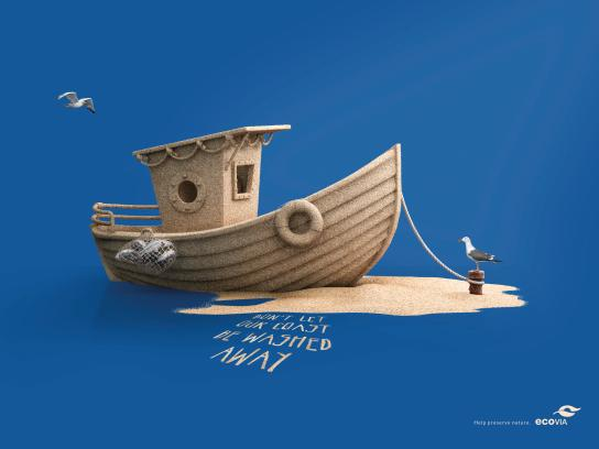 Ecovia Print Ad - Boat