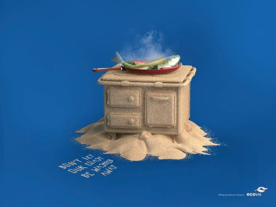 Ecovia Print Ad - Stove