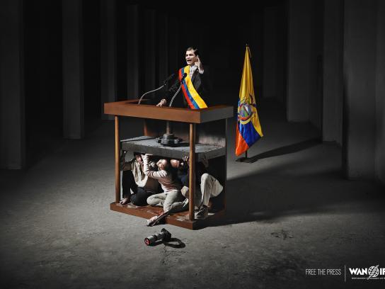 WAN IFRA Print Ad -  Ecuador