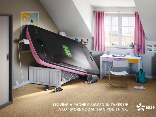 EDF Print Ad -  Phone