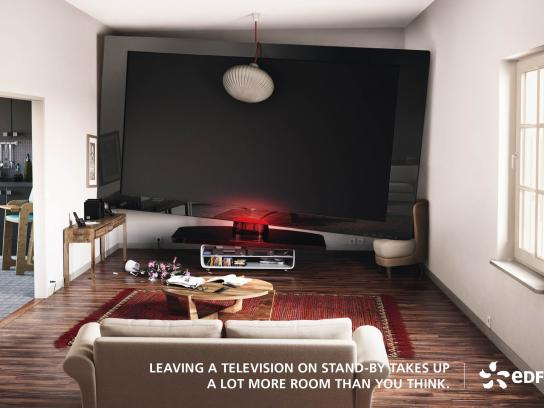 EDF Print Ad -  TV