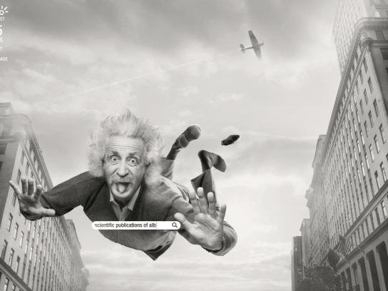 Claro Print Ad -  Einstein