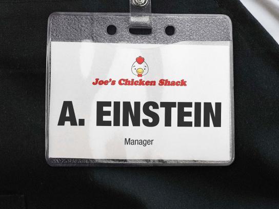 RecruitIreland.com Print Ad -  Einstein
