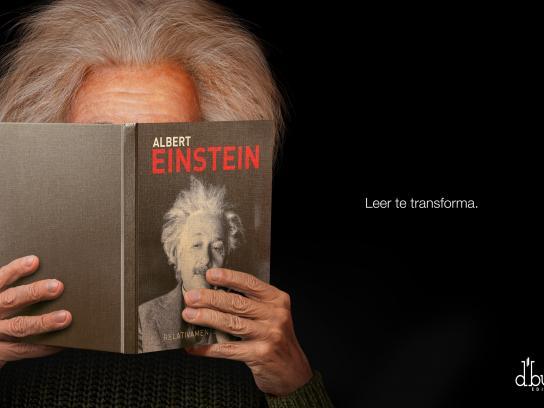 D'Buk Editors Print Ad -  Einstein
