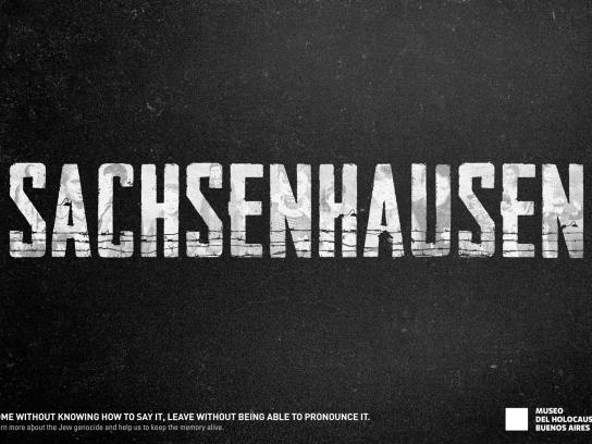 Museo del Holocausto Print Ad - Concentration Camps, 2