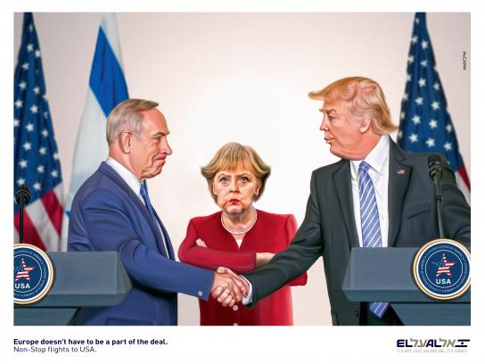EL AL Print Ad - Europe Doesn't Have to Be Part of the Deal