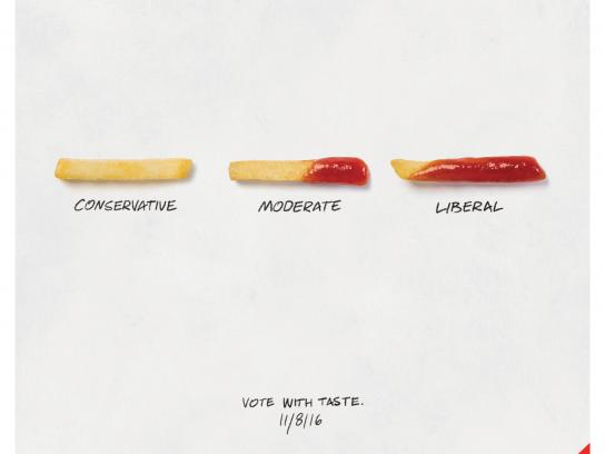 McDonald's Print Ad - Election Day, 2
