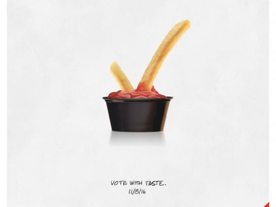 McDonald's Print Ad - Election Day
