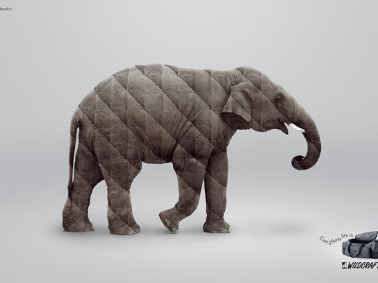 Wildcraft Print Ad -  Elephant