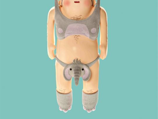 LG Print Ad -  Elephant