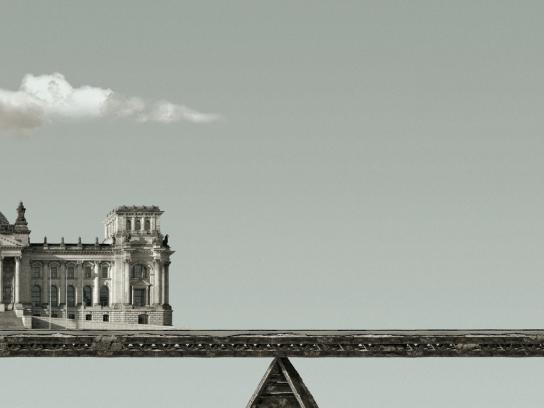 El Observador Print Ad -  Balance - Reichstag