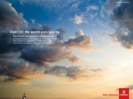 Emirates Print Ad -  London