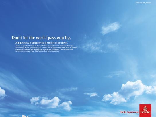 Emirates Print Ad -  Sydney