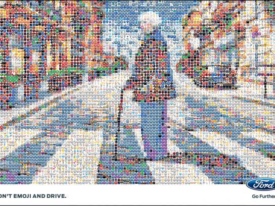 Ford Print Ad -  Granny