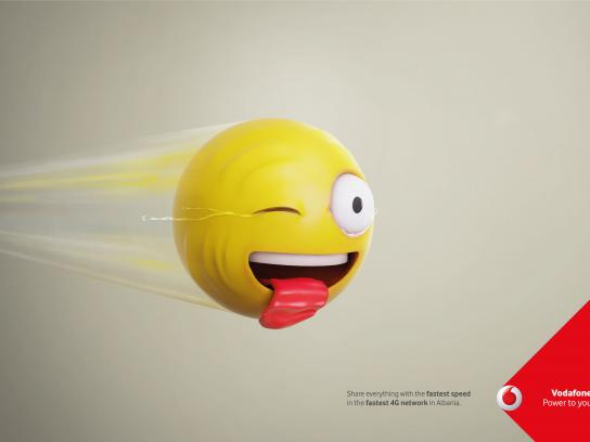 Vodafone Print Ad - Speed Tears, 1