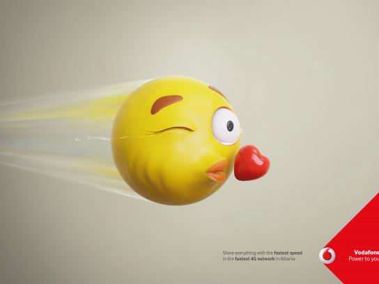 Vodafone Print Ad - Speed Tears, 3