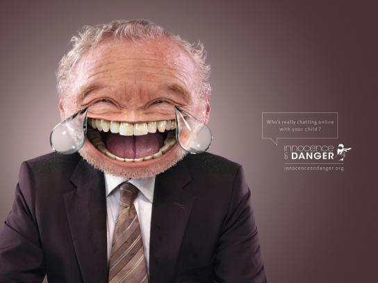 Innocence In Danger Print Ad -  Cry