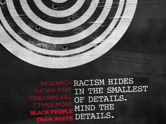 Grupo Editorial Record Print Ad - Racism