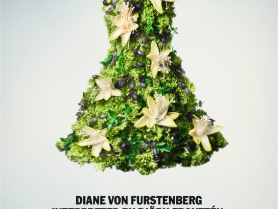 Nordiska Kompaniet Print Ad -  DVF