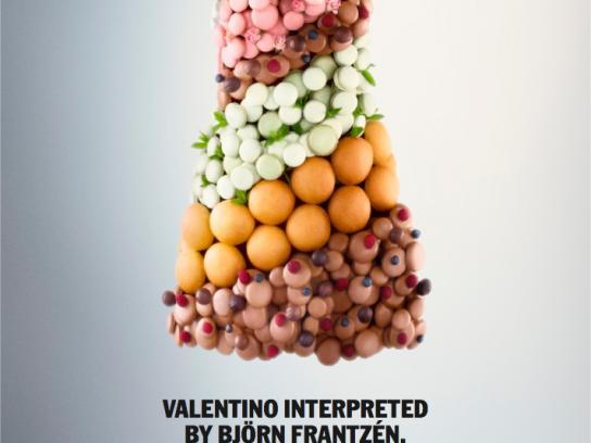 Nordiska Kompaniet Print Ad -  Valentino