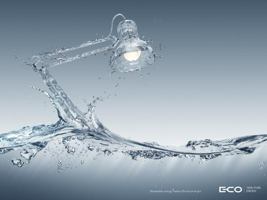 E-Co Print Ad -  Lamp