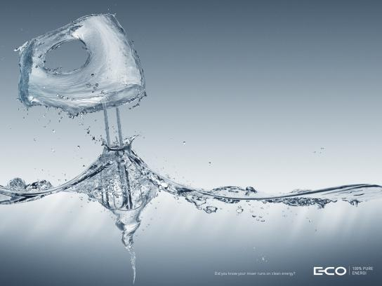 E-Co Print Ad -  Mixer