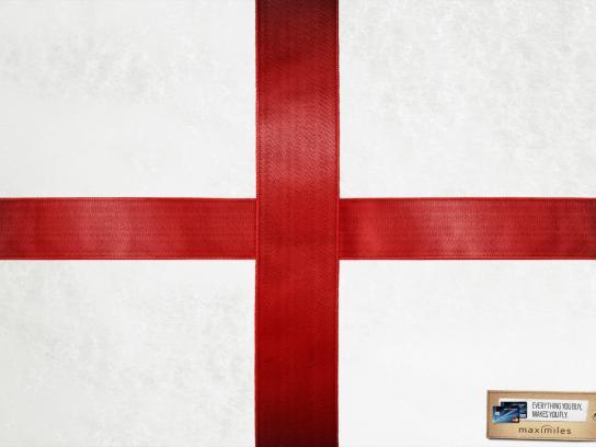 Maximiles Print Ad -  England