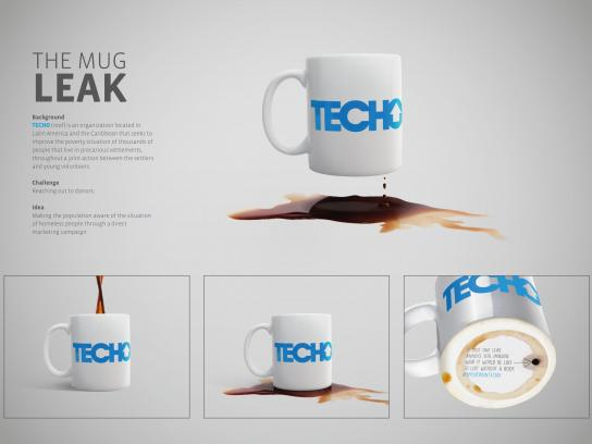 TECHO Direct Ad -  Mug leak