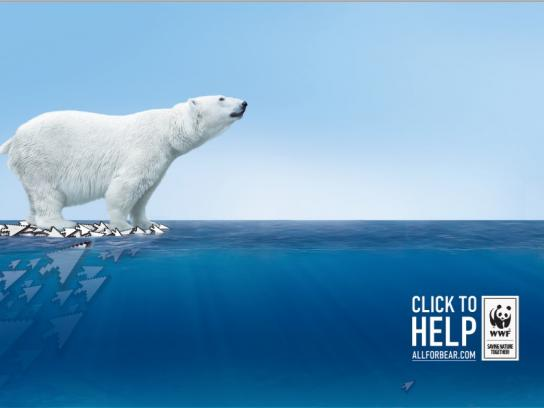 WWF Digital Ad -  Click for help